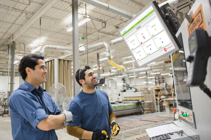 Give factory workers pride and ownership by making live production data visible via monitors at each workstation to help make your manufacturing company profitable again