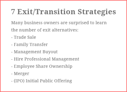 7 Exit / Transition Strategies